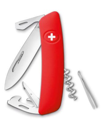 SWIZA knife DO3 red