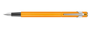 849 Fountain Pen Fluo Orange