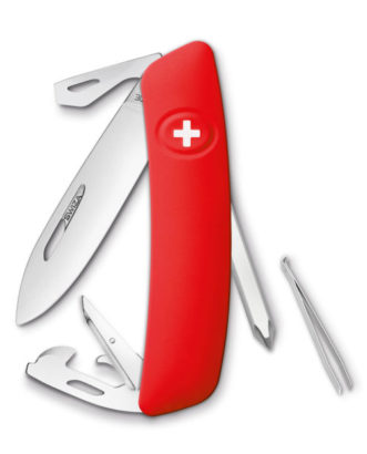 KNI.0040.1000 SWIZA knife DO4 red