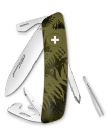 KNI.0040.2050 SWIZA CO4 Camo Silva SWIZA knife