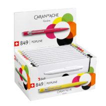 849.555 ballpoint pen display Fluo Colours