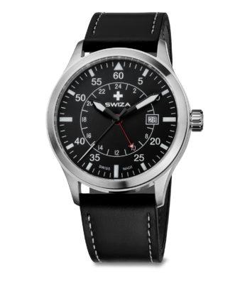 SWIZA watch Siriuz GMT black