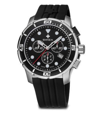 SWIZA watch, Tetis Chrono black