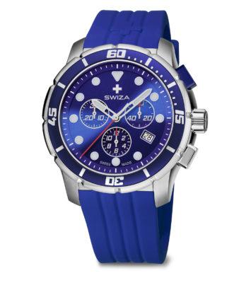 SWIZA watch Tetis Chrono blue