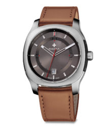 SWIZA watch Nowus anthracite, brown