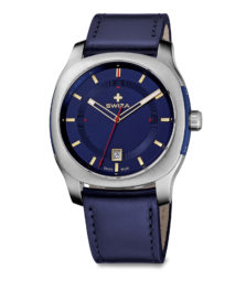 SWIZA watch Nowus blue, blue