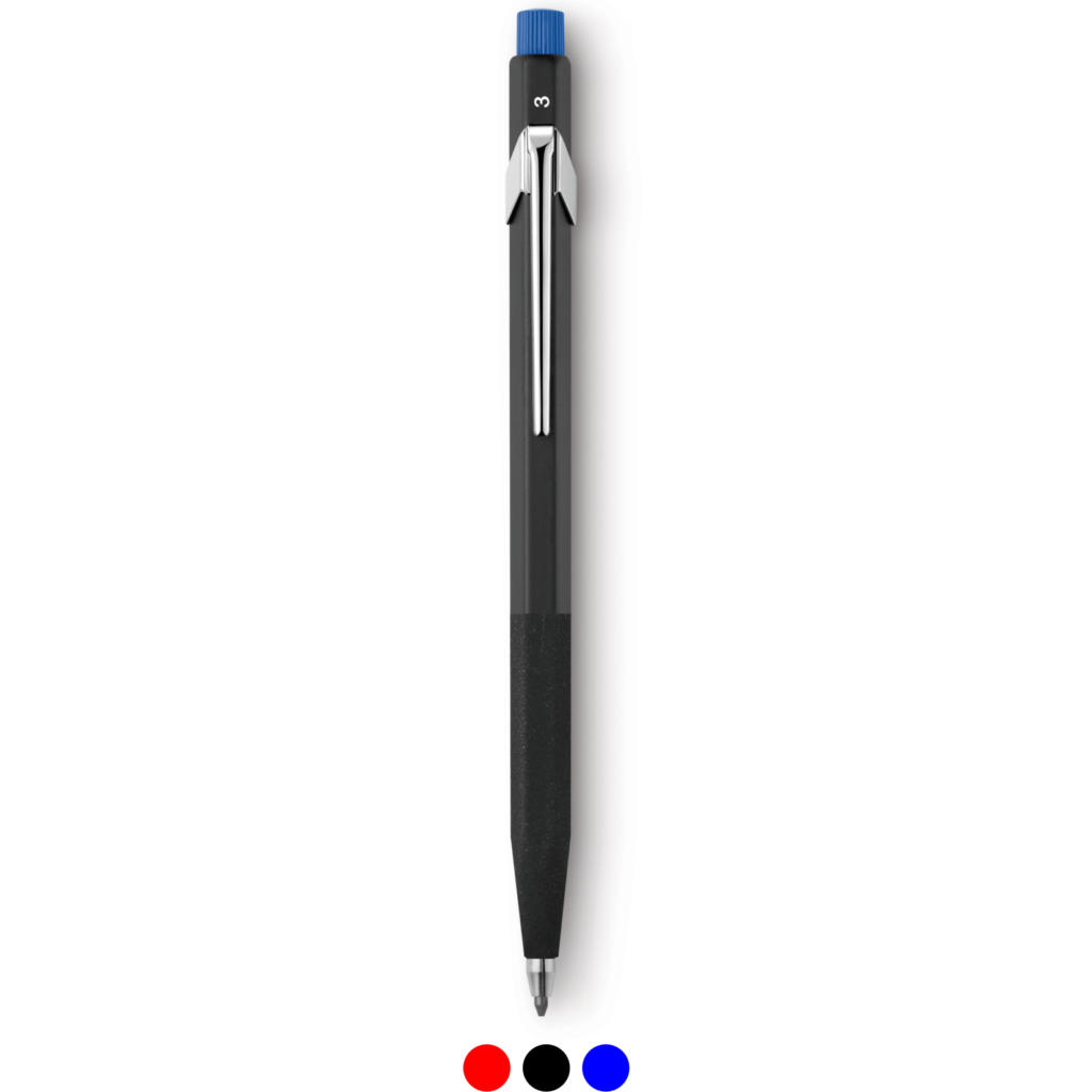 Special Edition Clutch Pencil with Leads CARAN D'ACHE FIXPENCIL MARIO BOTTA