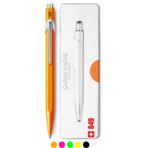 Caran D'Ache 849 ballpoint pen - Fluo collection