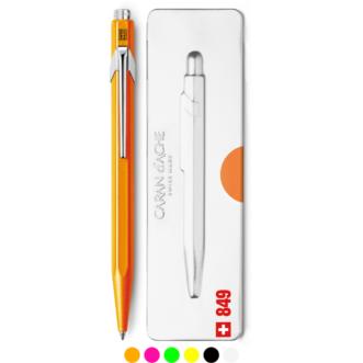 Caran D'Ache 849 ballpoint pen - Fluo collection