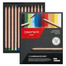 Caran D'Ache Luminance 6901 coloured pencils