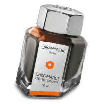 Caran D'Ache ink bottle 8011.052 Electric Orange