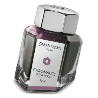 Caran D'Ache ink bottle 8011.099 Ultra Violet