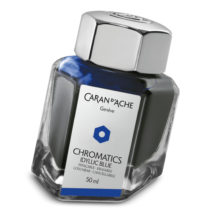 Caran D'Ache ink bottle 8011.140 Idyllic Blue